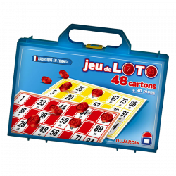 JEU DE LOTO - 48 CARTONS